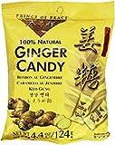 KC Commerce 100% NATURAL GINGER CANDY 4.4oz ( Pack of 10 )