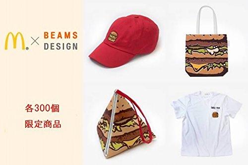 マクドナルド×BEAMS DESIGN Tシャツ Mサイズ キャップ トートバッグ ポーチ 4点セット 300個限定 ビッグマックソース発売記念の商品画像