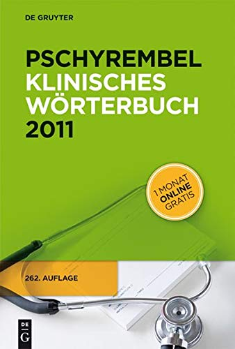 Pschyrembel Klinisches Worterbuch 2011 (German Edition)