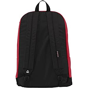 """Jansport - Right Pack Digital Edition Student/Laptop Backpack, 18""""H x 13""""W x 8.5""""D, Red Tape"""