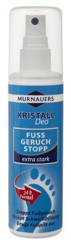 Murnauers Kristall Fuss Geruch Stopp, 100 ml