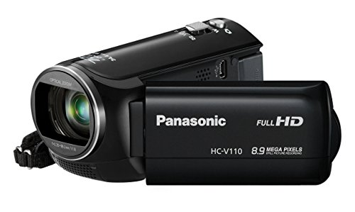 Digital Manufacturers Camcorders - Panasonic HC-V110 Light Weight HD 1080p Digital Camcorder (black) (Discontinued by Manufacturer) (Certified Refurbished)
