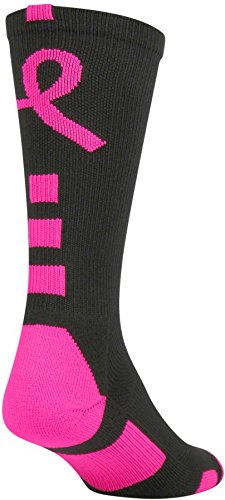 Twins Pink Ribbon - Twin City Baseline Aware Crew Sock