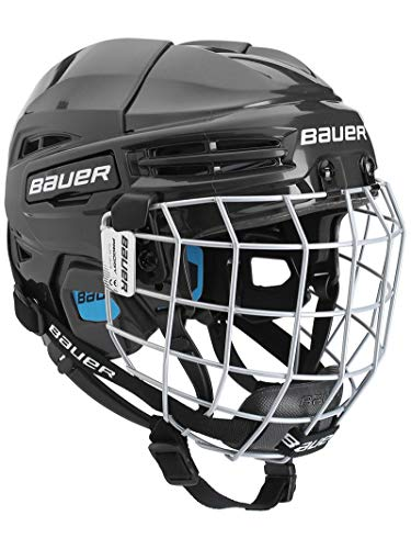 Bauer Prodigy Hockey Helmet Combo Youth, Black
