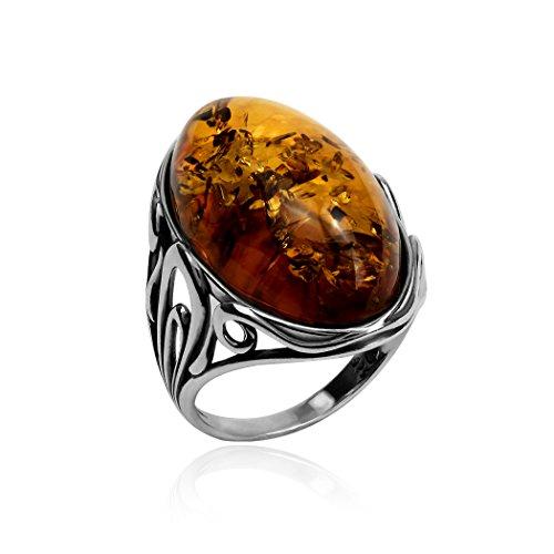Large Amber Stone - 7