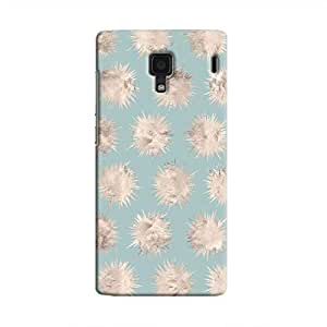 Cover It Up - Silver Star Pale Blue Redmi 1s Hard Case