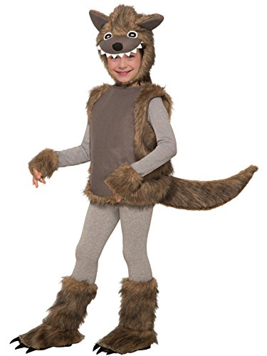 Kid's Little Bad Wolf Costume -