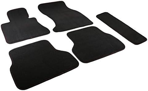 Tailored Black Car Floor Mats Carpets 4pc Set for BMW 3 Series E46 Cabriolet