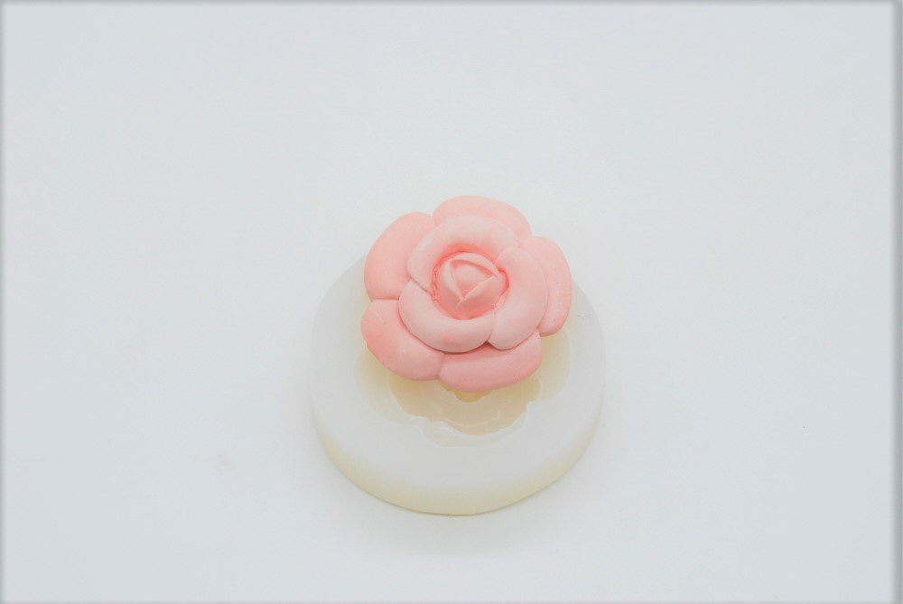 Camelia, Handmade Silicone Mold Mould sugarcraft Candle Clay ice Tray Chocolate soap Making