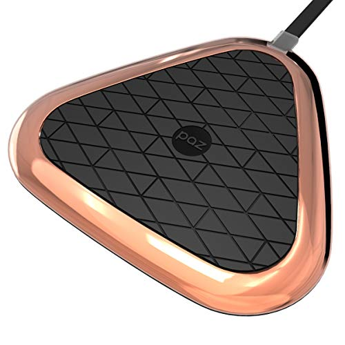 Wireless Charger - PAZ Vivid Certified Qi Wireless Charging Pad, Compatible with All Qi-Enabled Devices, Black