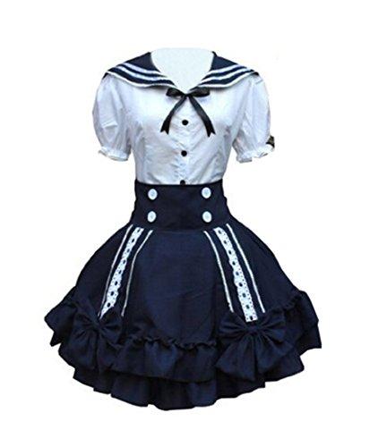 Women (Mens Navy Blue Sailor Costume)