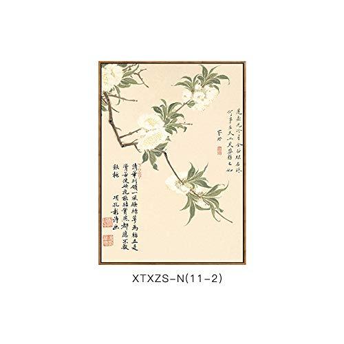 Chinesische Schlafzimmermalerei Wohnzimmerdekorationsmalerei Malerei und Elegante botanische Blumenmustermalerei DEED ich Wandmalerei Elegante Dekorative Moderne qz86EOa