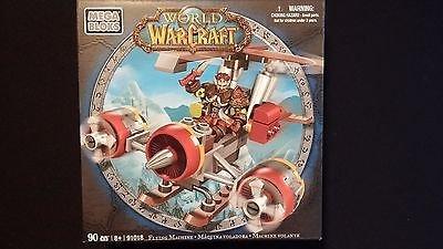 WOW World of Warcraft Flying Machine Mega Bloks 90 - Warcraft Flying Machine