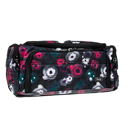 Lug Women's Trolley Toiletry Case, Water Black, Watercolor