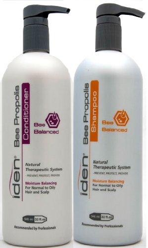 Iden Bee Balanced Shampoo & Conditioner 32oz Duo Pack