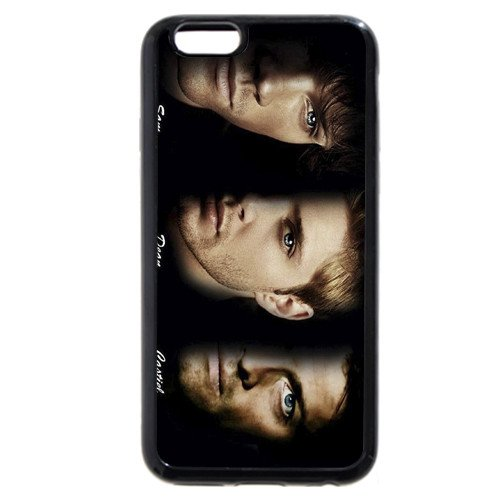 UniqueBox - Customized Black Soft Rubber(TPU) iPhone 6+ Plus 5.5 Case, Supernatural iPhone 6 Plus case, Only fit iPhone 6+ (5.5 Inch)