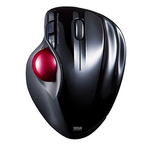 Sanwa Wireless Trackball Mouse laser black MA-WTB43BK - Microsoft Common Control