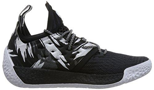 Adidas Mens Vol.2 Induriscono, Nero / Nero Bianco / Bianco