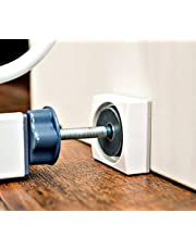 Wall Nanny Mini - Baby Gate Wall Protector (4 Pack) for Dog & Pet Gates - Small Low-Profile Saver - Perfect in Doorways - Cups Protect & Guard Walls from Kid Child Safety Pressure Gates - White