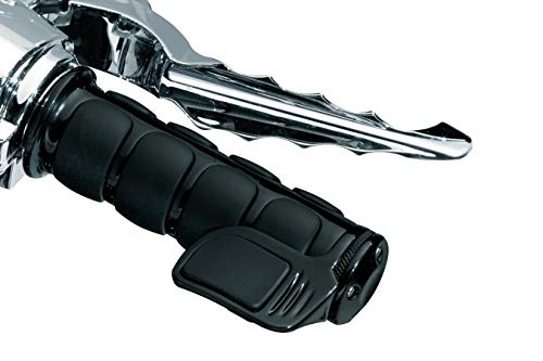 - Kuryakyn 6340 Premium ISO Handlebar Grips for Throttle and Clutch: Universal Fit for Motorcycles with 1