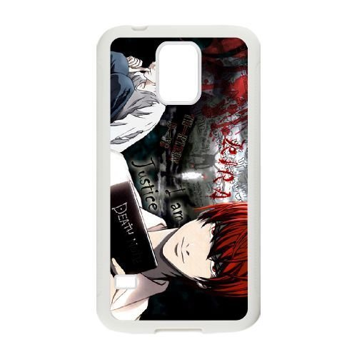 samsung galaxy s5 case , Death Note Cell phone case White for samsung galaxy s5 - SDFG2230808