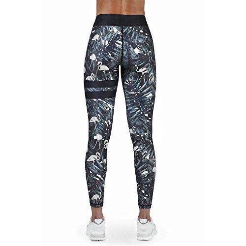MAYUAN520 Sport imprimée Collants Leggins Pantalons Yoga Fitness élastique Vêtements de sport Running Tights Pantalon Femme Sportswear