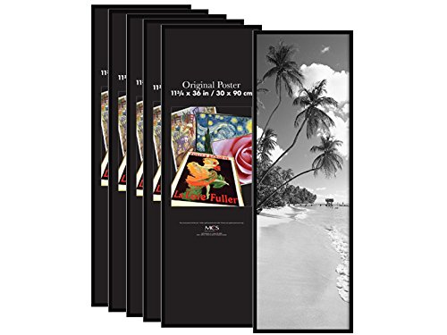 MCS 11-3/4x36 Poster Frames - Corrugated (Pack of 6) 22146