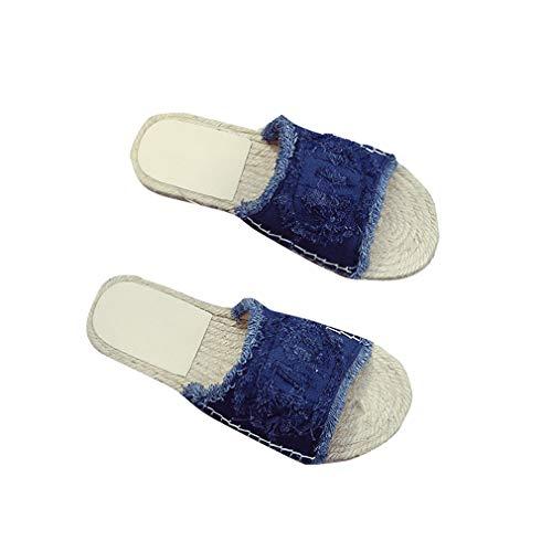 Blue Flat Wear Chaussure Femme Non YUCH Outer Slip Slip qtS8wOPg