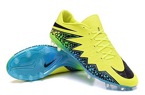 Herren Mercurial superfly II FG mit ACC Fußball Schuhe Fußball Stiefel