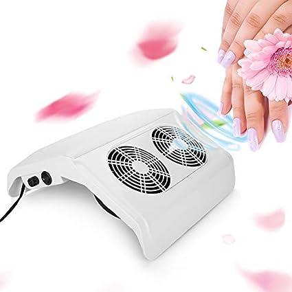 50 W Colector de Polvo para Uñas, Aspirador de Manicura, Máquina de Ventilador, para Aspiración Artística: Amazon.es: Belleza