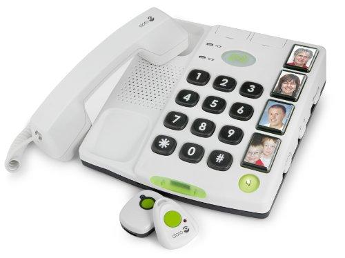 Doro Secure 347 téléphone fixe filaire Blanc  Amazon.fr  High-tech cc4dfaffd926