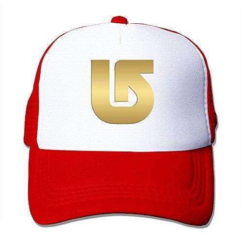 Gloden Burton Mesh Baseball Cap For Women & Men Red