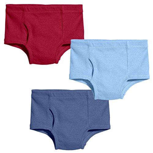 City Threads Boys Organic Cotton Brief Underwear For Sensitive Skin and Sensory Friendly (SPD), Classic, 7