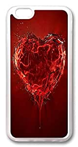 ACESR Broken Heart Customize iPhone 6 Cases, TPU Case for Apple iPhone 6 (4.7inch) Transparent