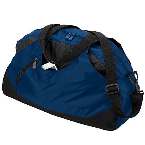UPC 784371598815, Augusta Sportswear Crescent Duffel OS Navy/Black