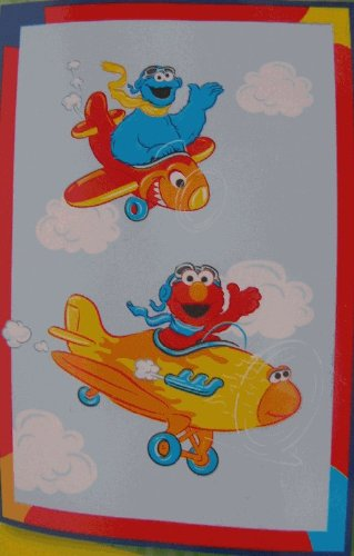 Elmo Toddler Blanket