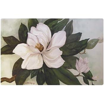 Amazon Com Southern Magnolia Flower Washable Plastic