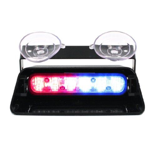 Whelen Dash Lights - Whelen Spitfire ION Super-LED Dash Light - Red/Blue Split