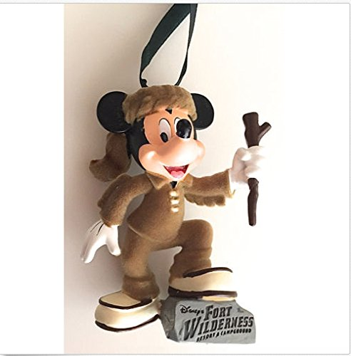 lderness Mickey Mouse Hiker Figurine Ornament NEW (Disney Fort Wilderness Resort)