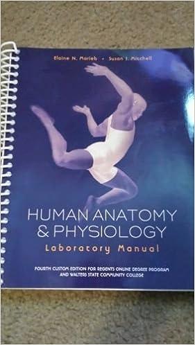 Human Anatomy & Physiology Laboratory Manual 4th Custom Edition for ...
