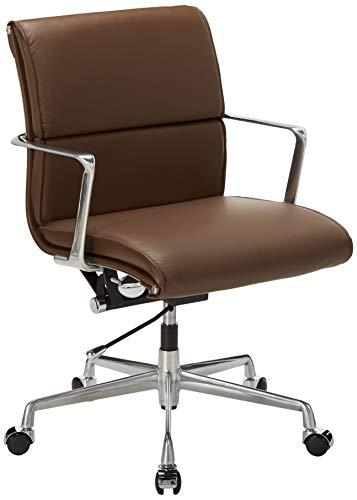 Meelano M347 Office Chairs Dark Brown