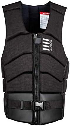 Impact//CE Approved Vest 2020 Ronix Kinetik Armor Foam Black//White