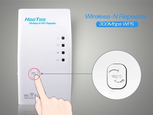 hootoo ht wr01 wireless n signal repeater booster and range extender 300 mb. Black Bedroom Furniture Sets. Home Design Ideas