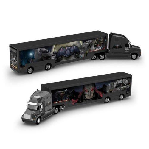 Dale Earnhardt Jr #88 Batman Nationwide NASCAR Authentics 1/64 Scale Hauler Trailer Rig Semi Truck Trailer Tractor Cab ()