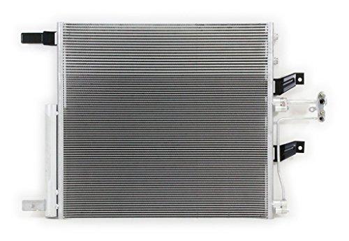 A-C Condenser - Pacific Best Inc For/Fit 4436 12-16 Dodge RAM 1500 4.7L/5.7L 12-13 Dodge RAM 2500 5.7L 13-13 RAM 3500 5.7L w/Receiver & Drier (Condenser A/c Ram 1500 Dodge)