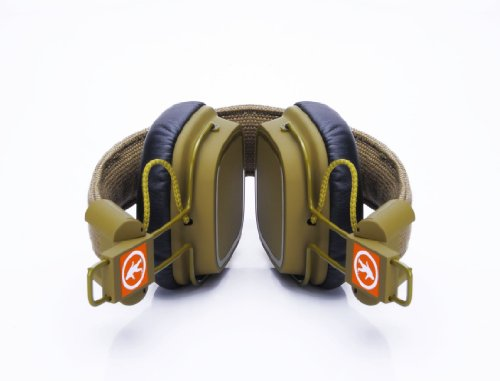 Outdoor Tech OT1400 Privates - Wireless Bluetooth Headphones with Touch Control (Army Green) by Outdoor Technology (Image #1)