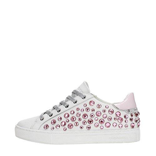 25219ks1 Crime Bianco Donna rosa Sneakers 6Uv7qF
