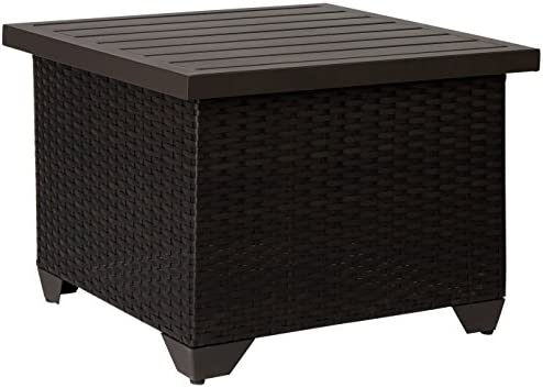 TKC Barbados End Table, Espresso