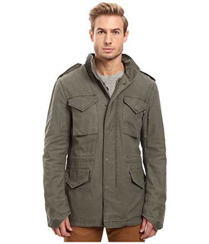 Alpha Industries Men's M 65  Defender Field Coat, Medium Olive, Large ()
