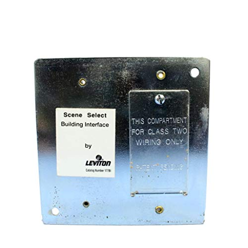Leviton 177BI Mural Scene Select Device Contact Closure Building Interface ()